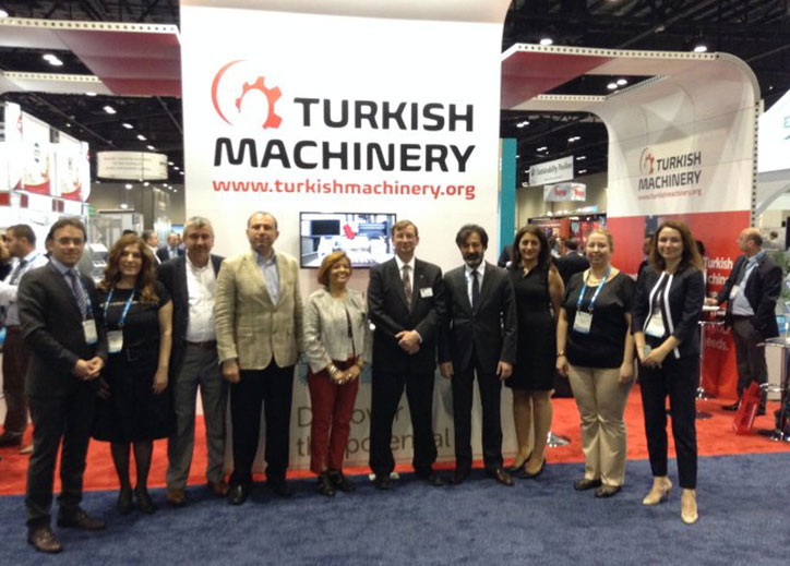Turkish Machinery at NPE 2015 for the first time