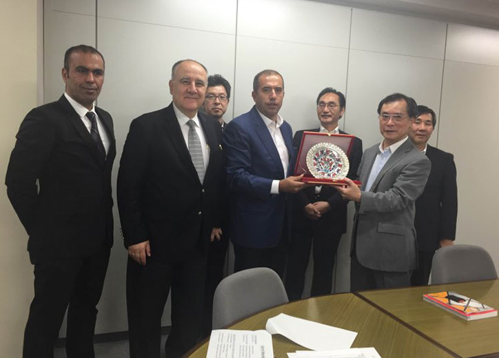 Turkish Machinery was Represented in Japan