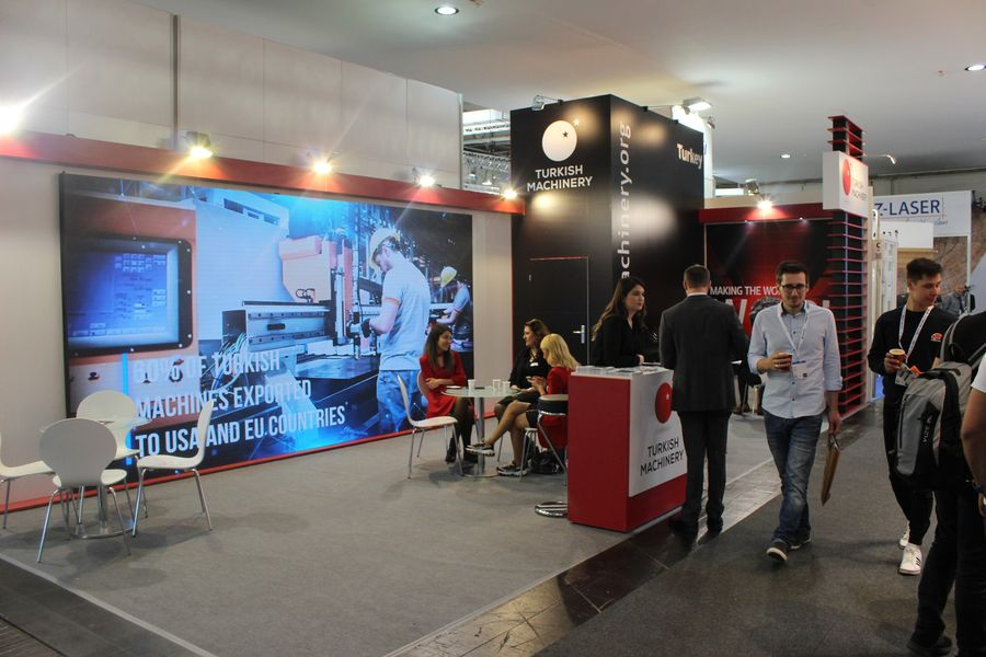 Turkish Machinery have attended the Ligna