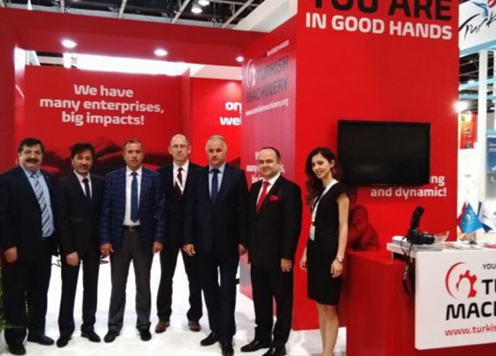 Turkish Machinery Group attended Big 5 Fair