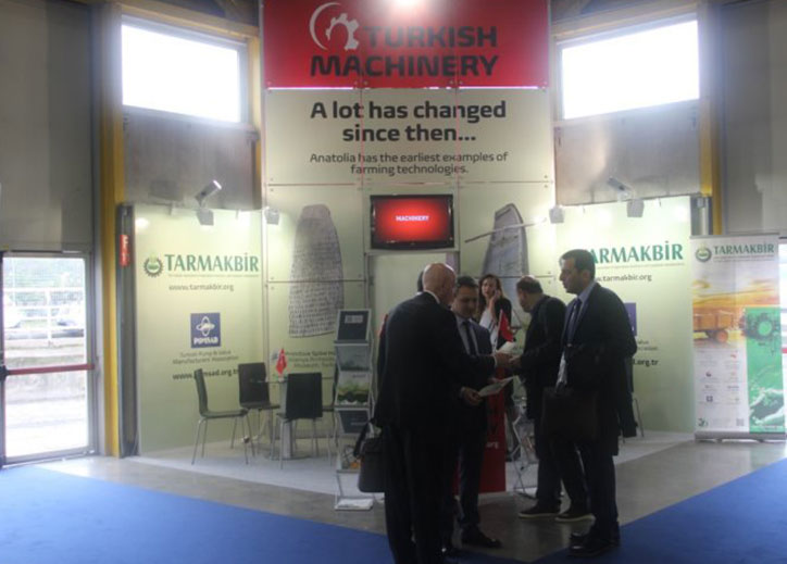 Turkish Machinery Sector leaves its mark on EIMA