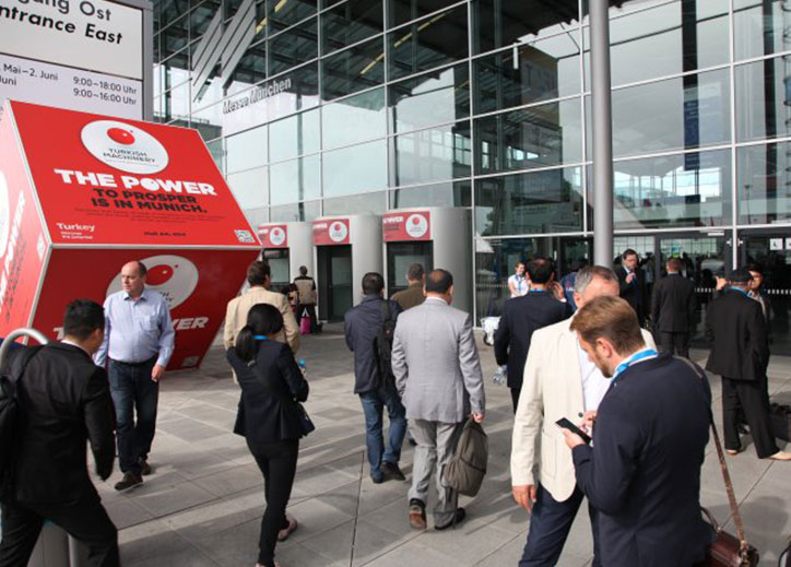 Turkish Machinery participated in IFAT Fair