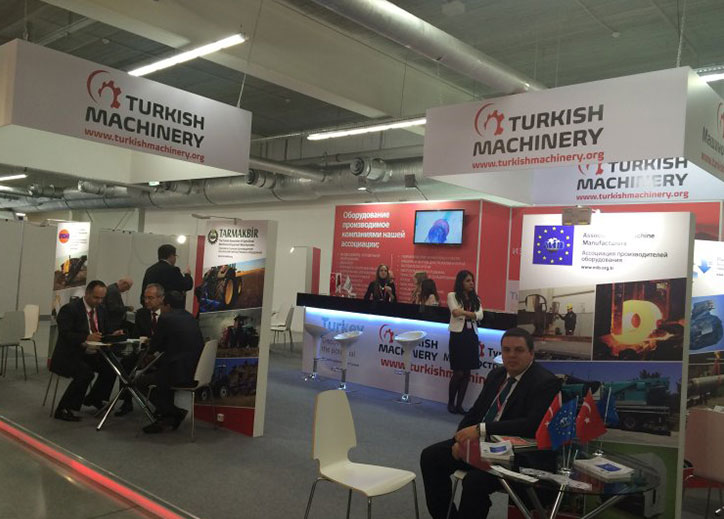 Turkish Machinery Group (TMG) is going on its activities in Russia