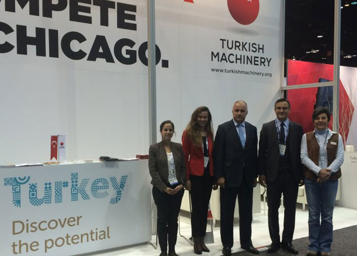 Turkish Machinery is @ Fabtech Chicago Fair
