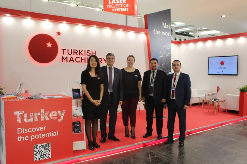 Turkish Machinery put in an appearance in Ligna Fair