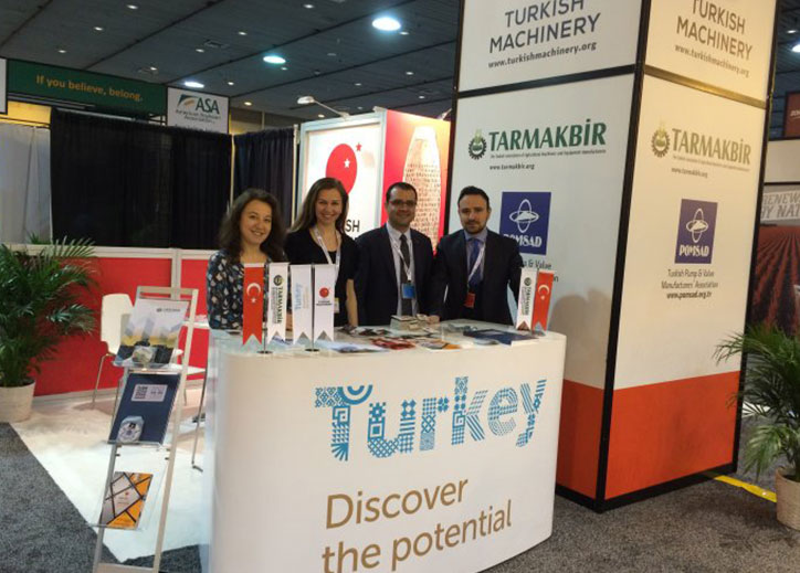 Turkish Machinery Group participated in Commodity Classic in New Orleans