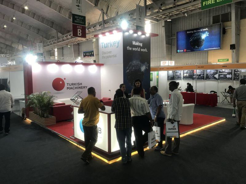 Turkish Machinery (Machinery Exporters' Association) participated in India Wood Fair