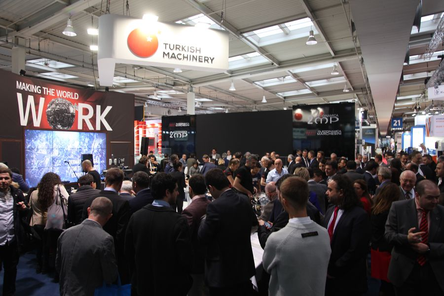 Turkish Machinery participated in Hannover Messe for 10th time