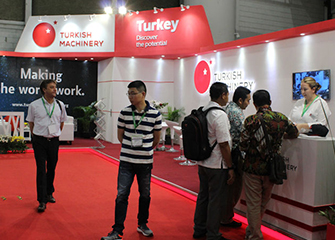 Turkish Machinery is in Indonesia for textile sector this time
