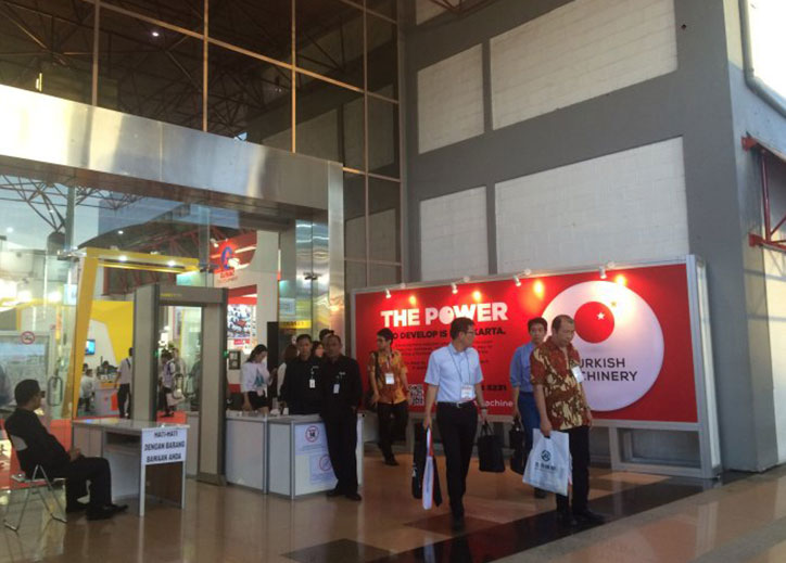 Turkish Machinery participated in Machine Tool Indonesia for the fifth time