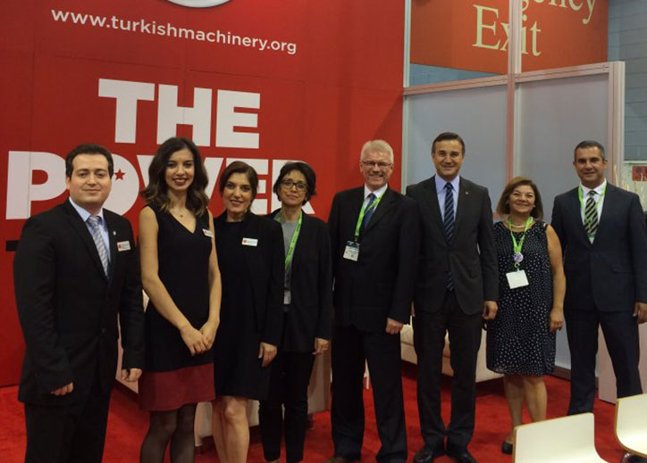 Turkish Machinery attended at IMTS 2016