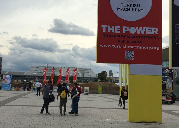 Turkish Machinery Group (Turkish Machinery) has participated to AMB Fair in Germany