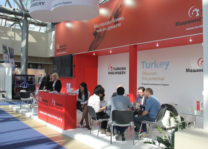 Turkish Machinery Continues its promotional activities in Russia with Metalloobrabotka Fair