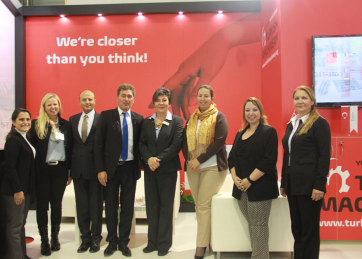 Turkish Machinery was in Blechexpo Fair