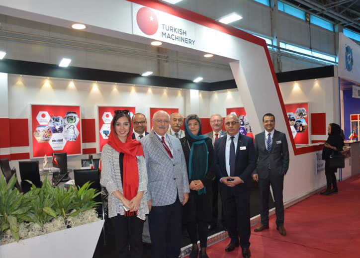 Turkish Machinery Group is in Tehran for TIIE
