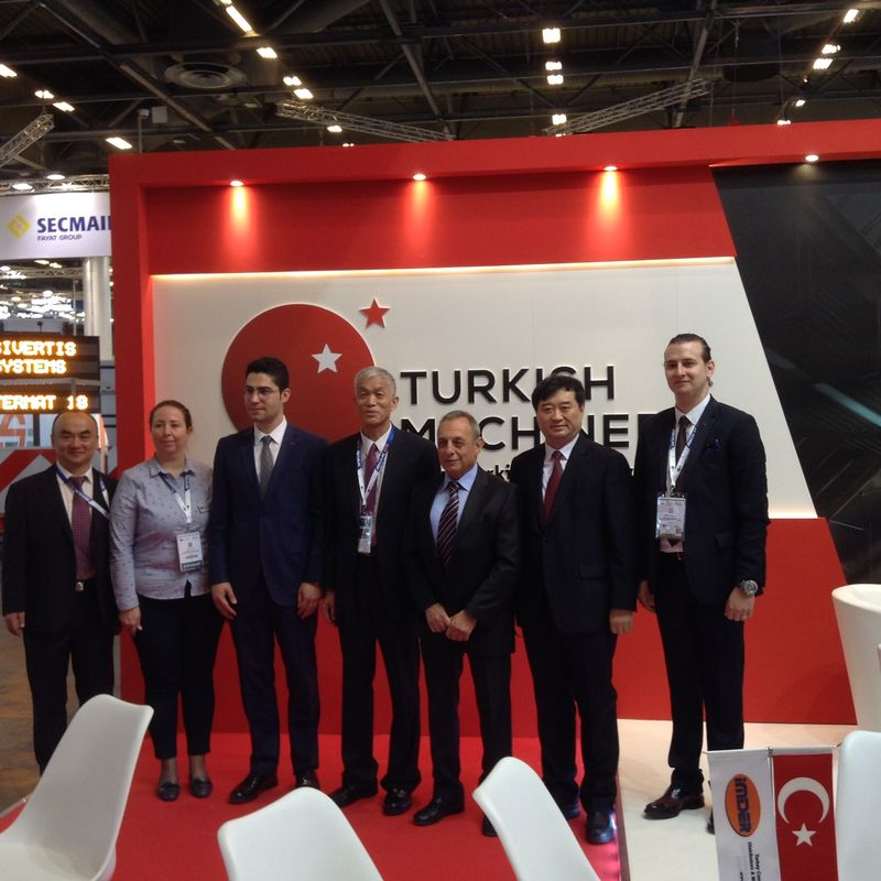 Turkish Machinery participated in Intermat