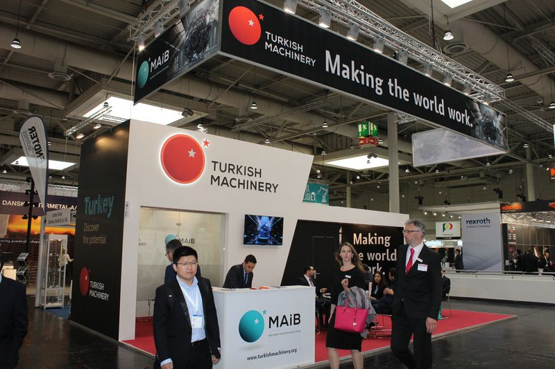 Turkish Machinery participated in Hannover Messe